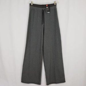Under Armour Athletic Pants Wide Leg Gray Small